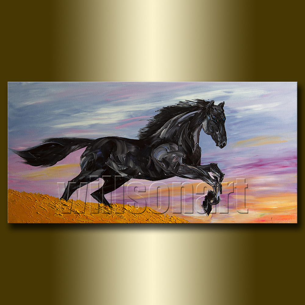 Horse Painting Art